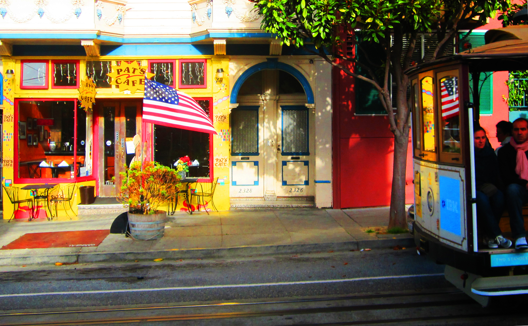 American style caf for American cuisine in san francisco
