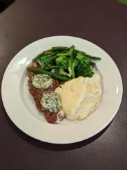 7oz Gorgonzola New York Steak